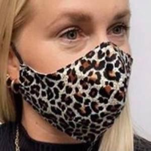 Bilde av Maske ikke medisinske, leopard