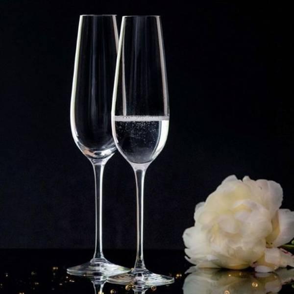 Amore champagneglass glatt 30 cl
