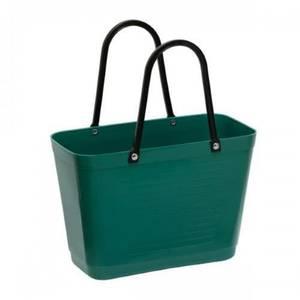 Bilde av Liten Hinza veske Green plastic Mørkgrønn