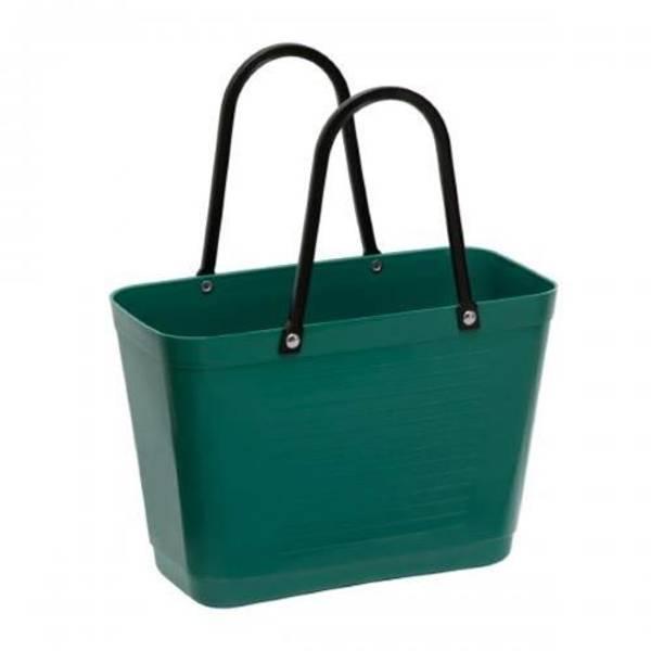 Liten Hinza veske Green plastic Mørkgrønn