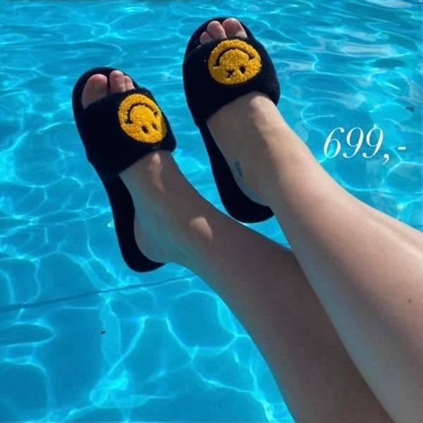 Smily slippers sorte