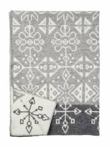 Bilde av Tradition grey, woven blanket, 100% eco lambs