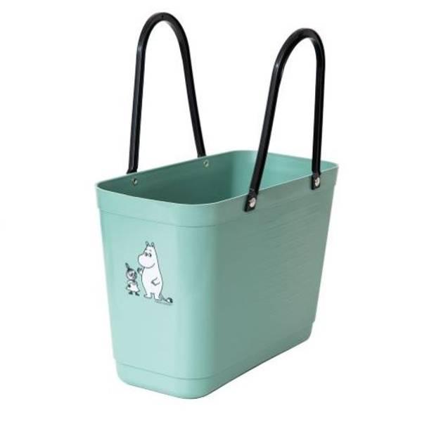 Liten Hinza veske Olivengrønn- Green Plastic, Lilla My & Mumint